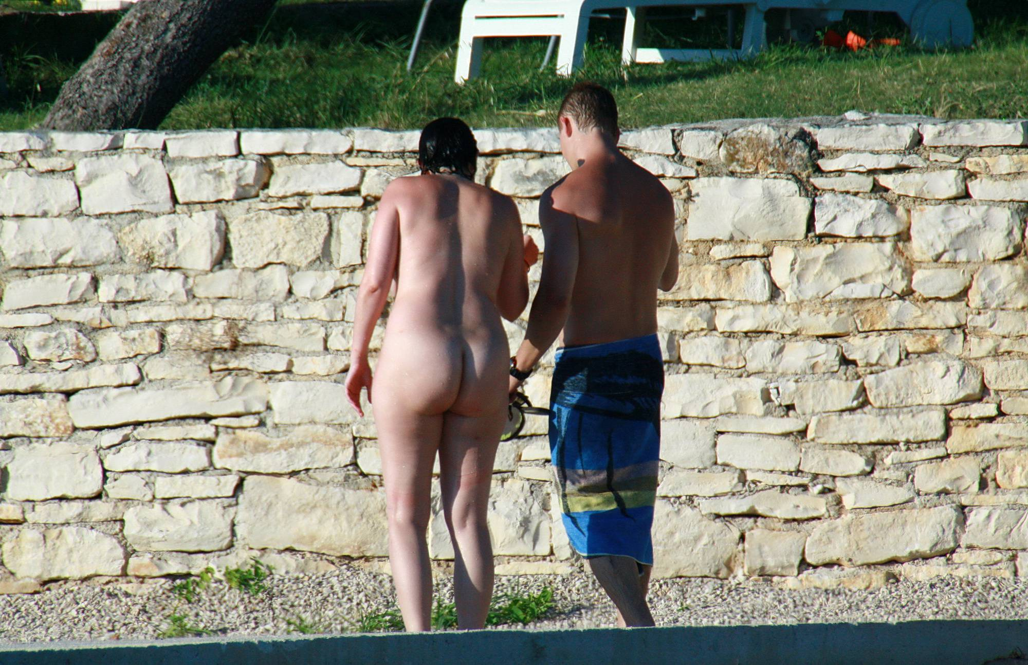 Nudist Gallery A Perfect Day To Suntan - 1