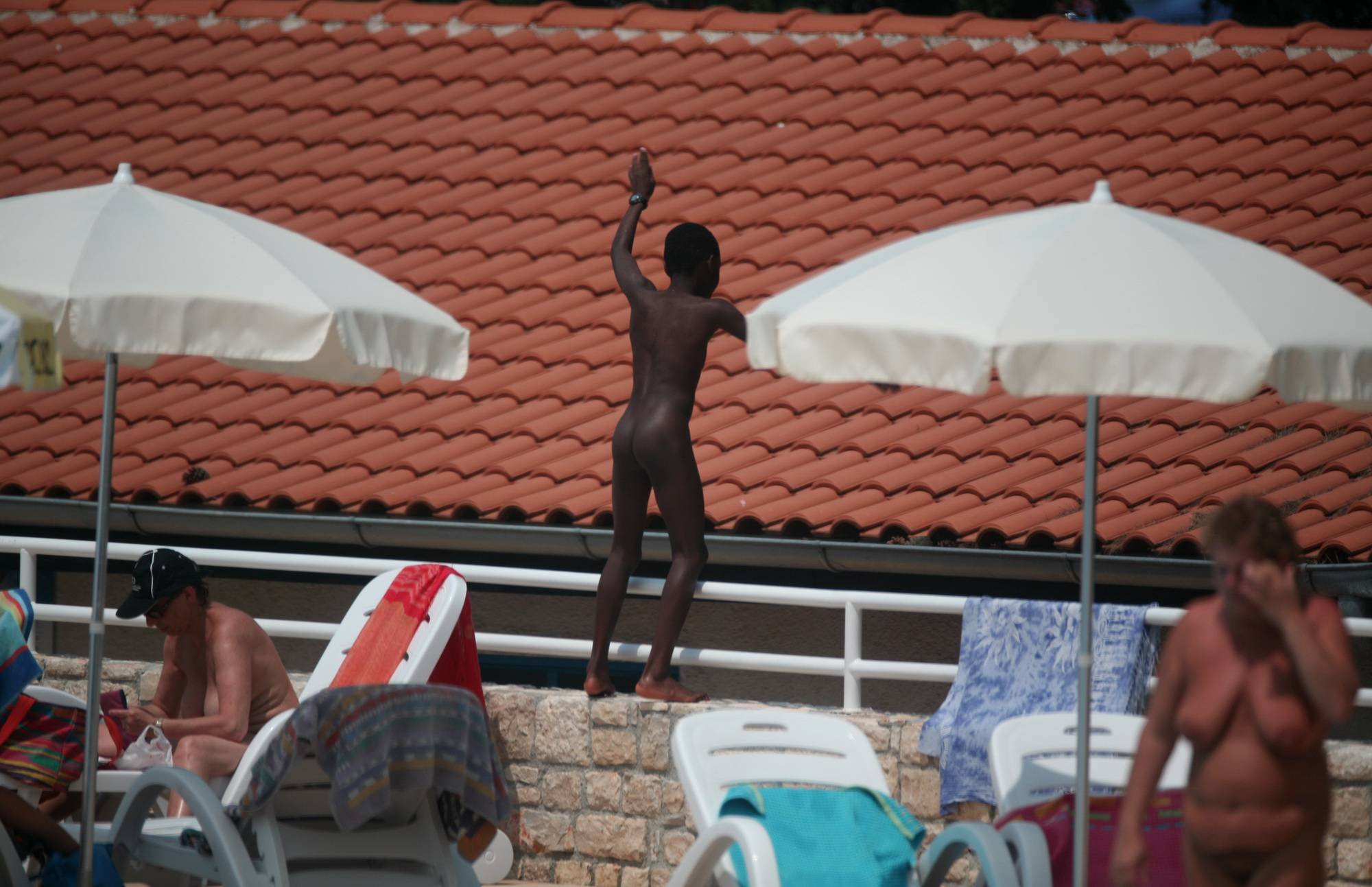 Nudist Pics African-American Naturist - 2
