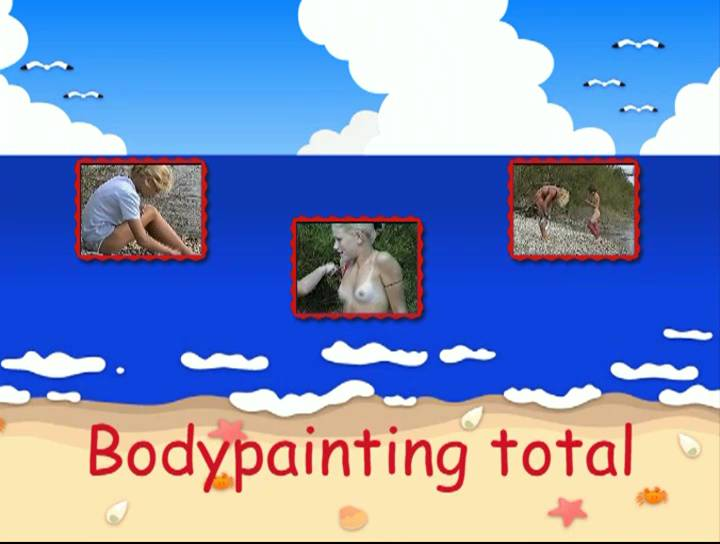 Bodypainting total - Poster