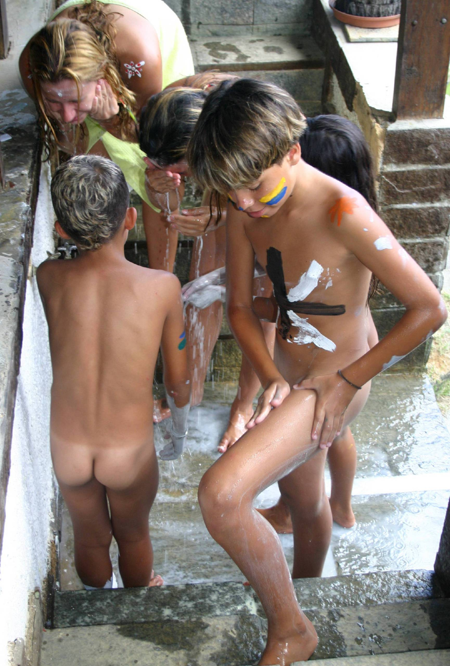 Nudist Gallery Brazilian Body Painting - 1