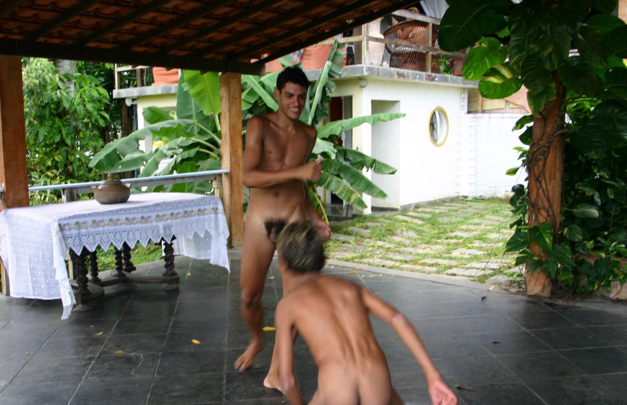 Nudist Photos Brazilian Men Are Dancing - 1