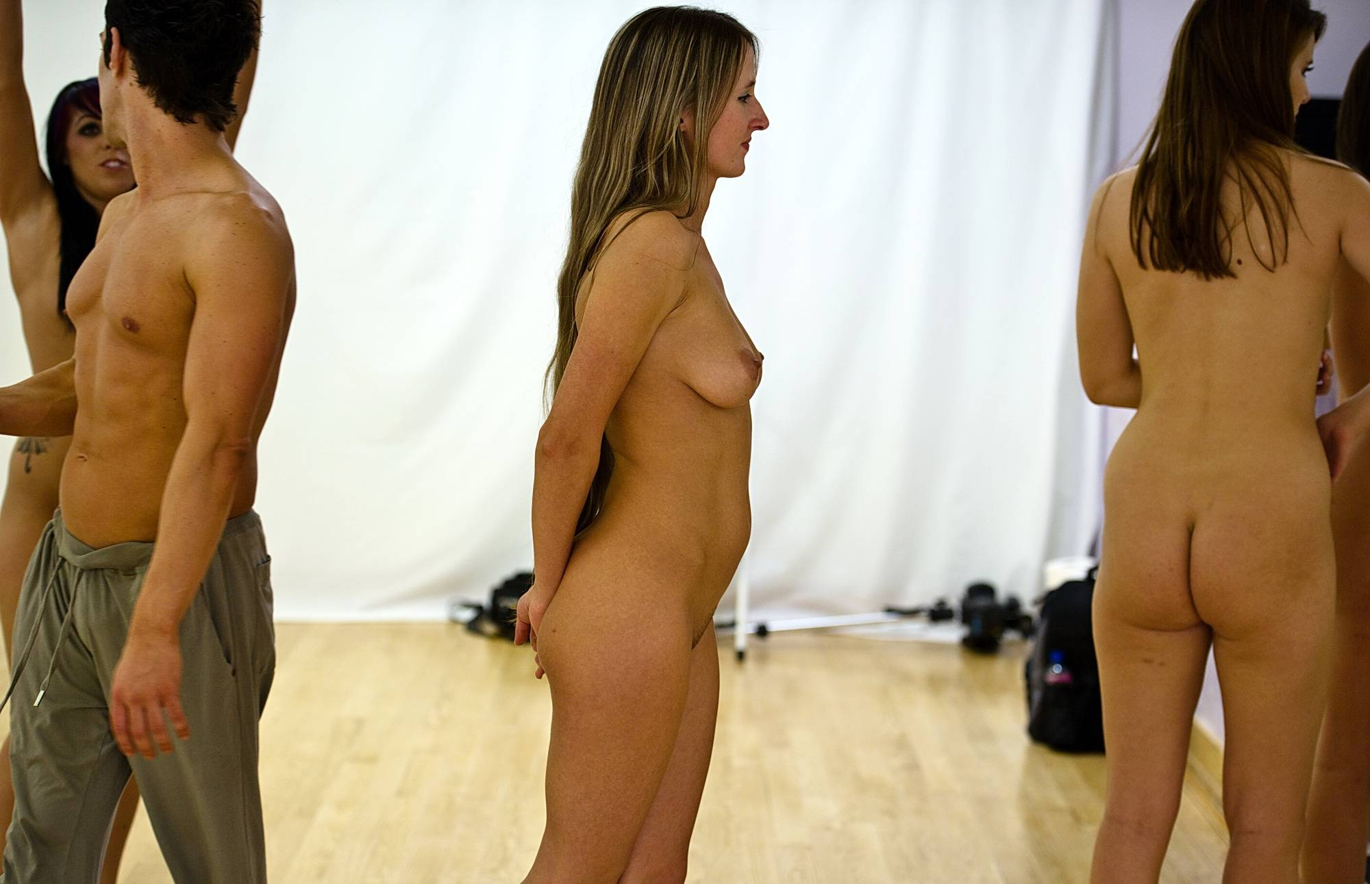 Nudist Gallery Brief Intermission Break - 2