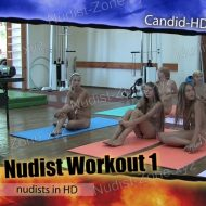 Teen Nudist Workout 1