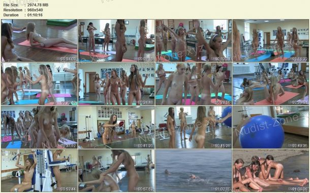 Teen Nudist Workout 2 screenshots 1
