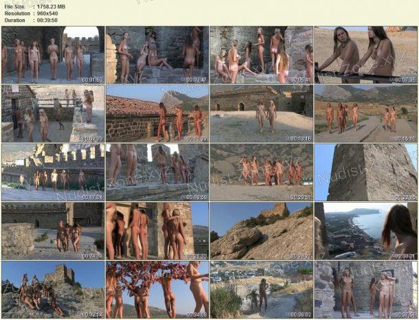 Frames Ancient Castle Nudism 1