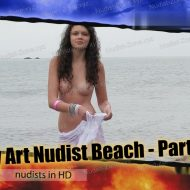 Body Art Nudist Beach. Part 1