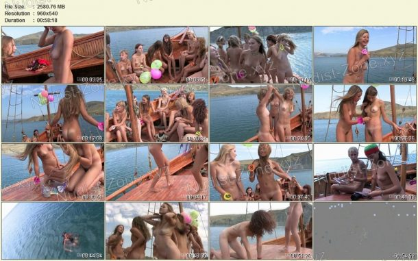 Miss Teen Crimea Naturist 2008 frames 1