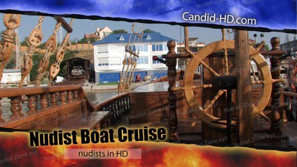 Shot Nudist Boat Cruise