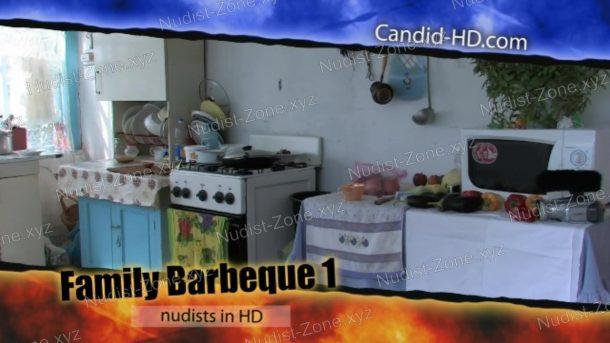 Family Barbeque 1 frame
