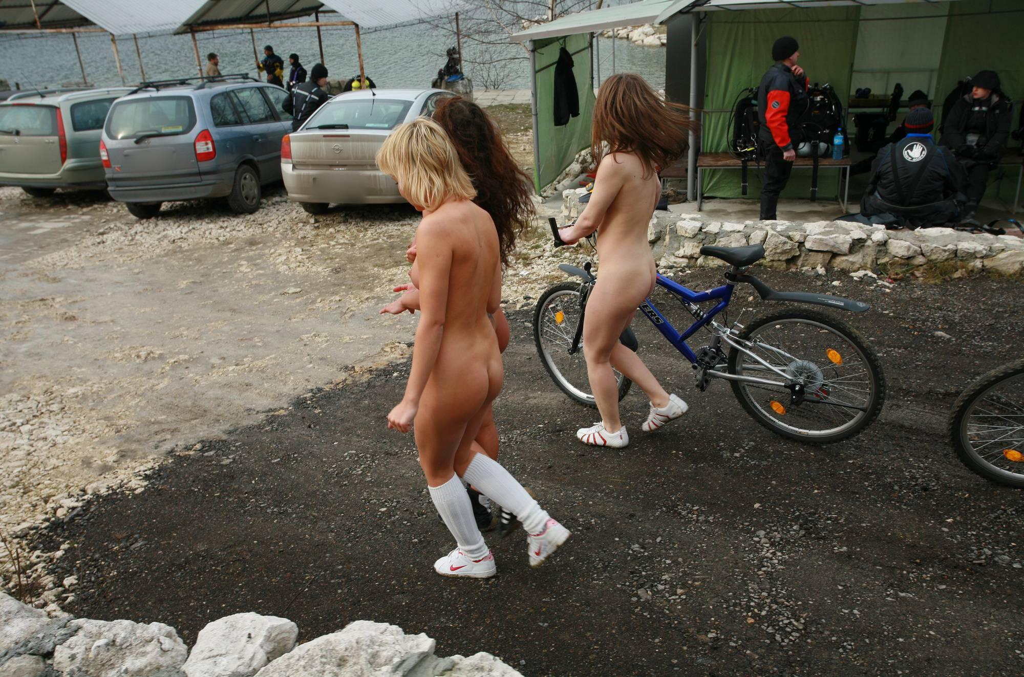Nudist Gallery Camper Trip Bike Ride - 2
