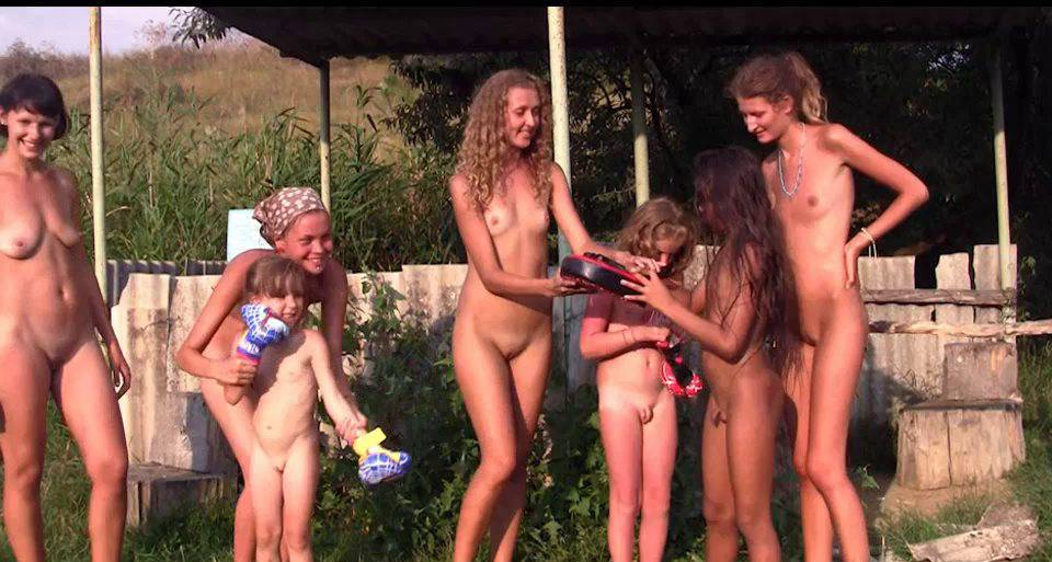 Nudist Movies Countryside Lounging 1 - 2
