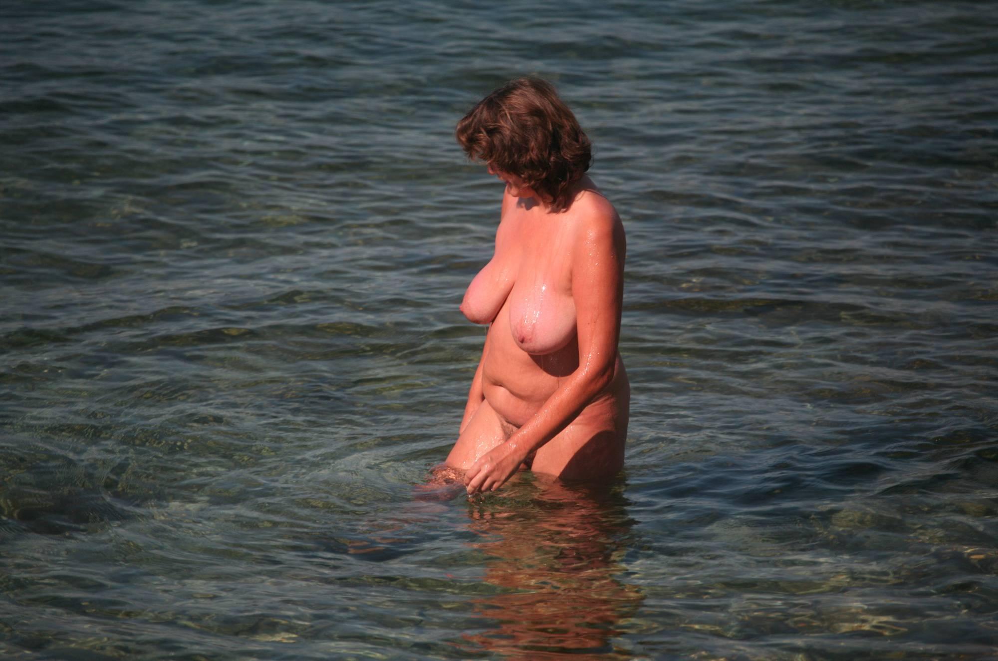 Crete Dog-Bathing Woman - 1