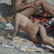 Croatian Baska Beach Day