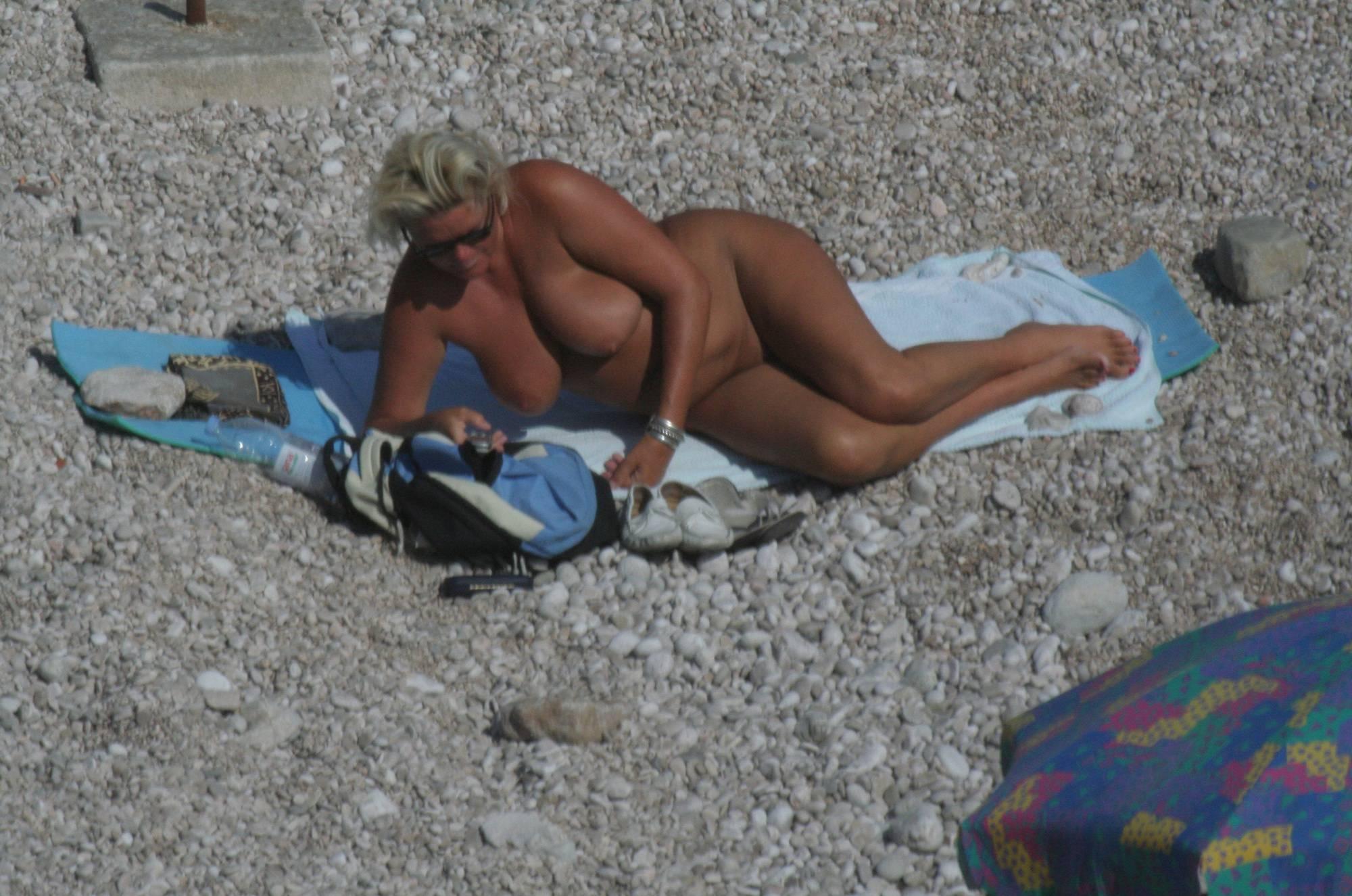 Croatian Baska Beach Day - 2