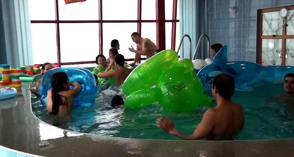 Indoor Swim Exercise - 1