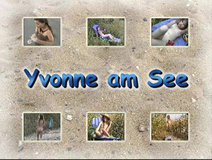 Yvonne am See - Poster