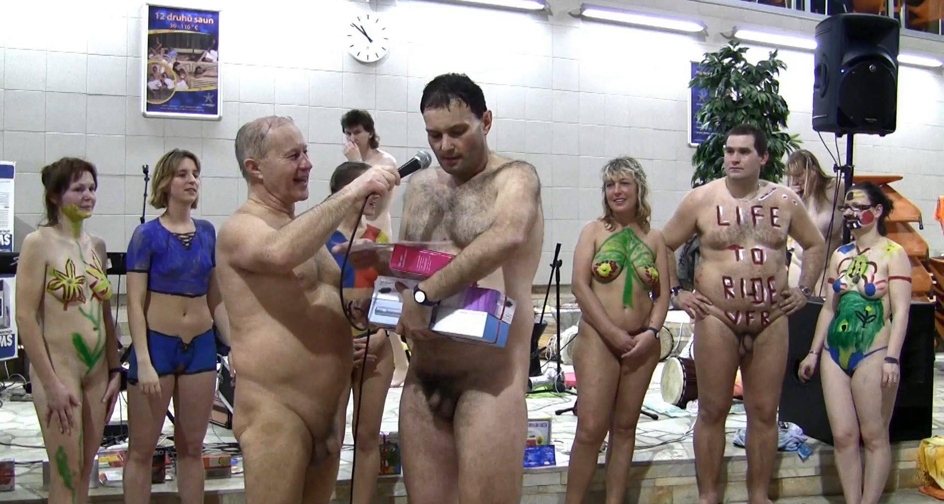 Nudist Movies Grassy Outdoor Fitness - 2
