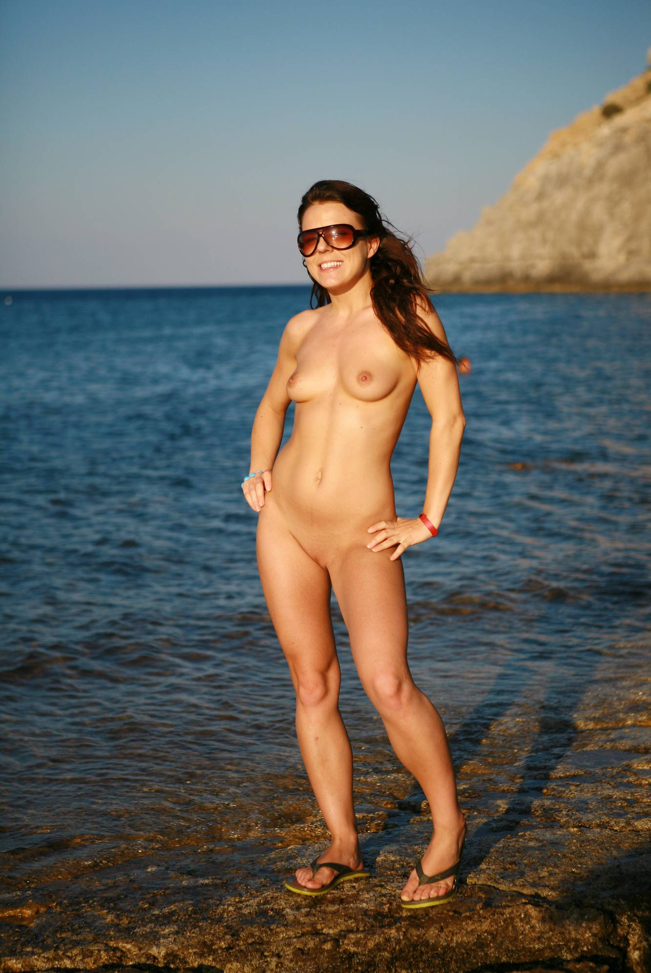 Nudist Pics Greek Island Hoppers - 1
