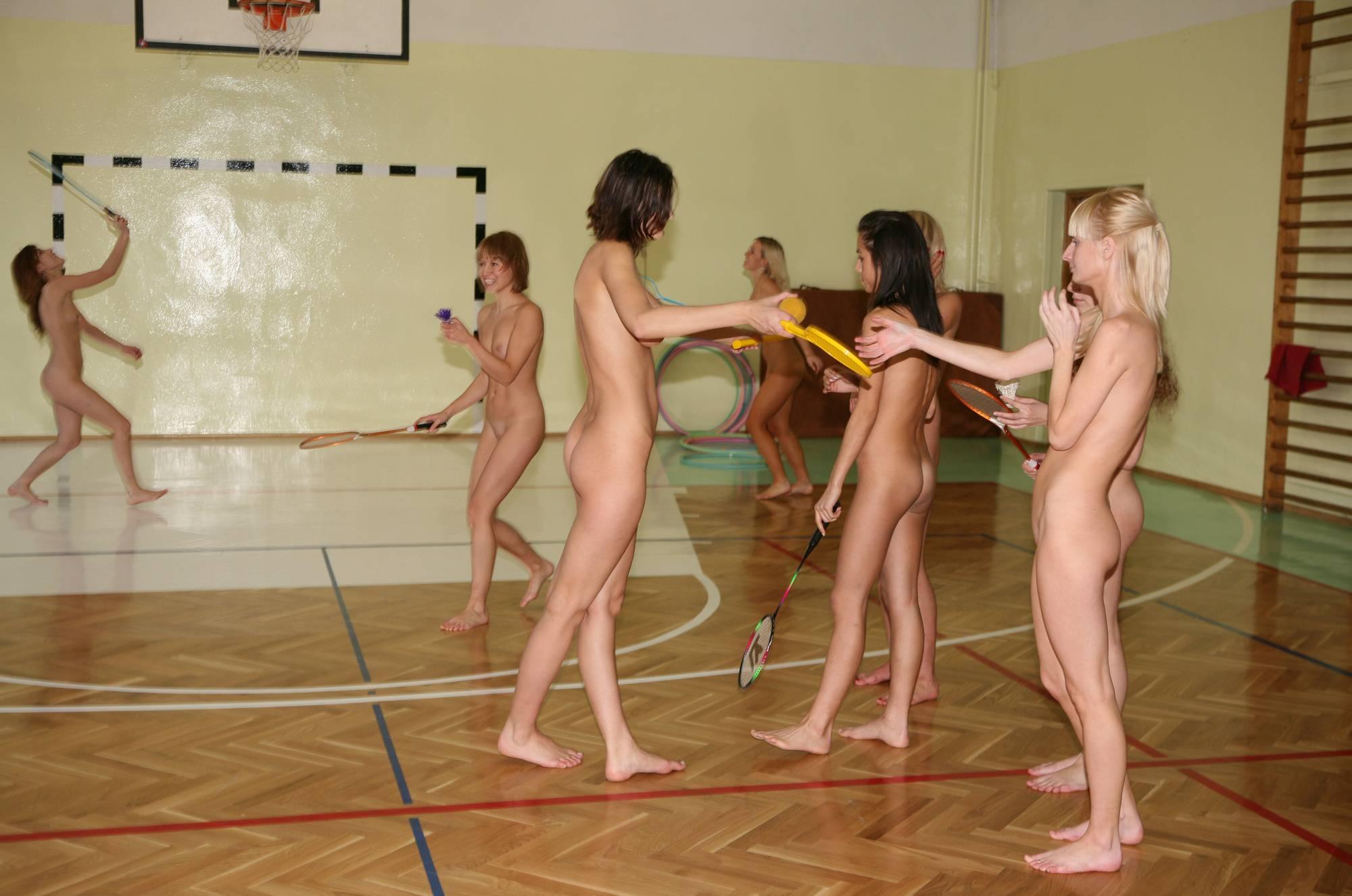 Nudist Gallery Gym Babington and Rackets - 2