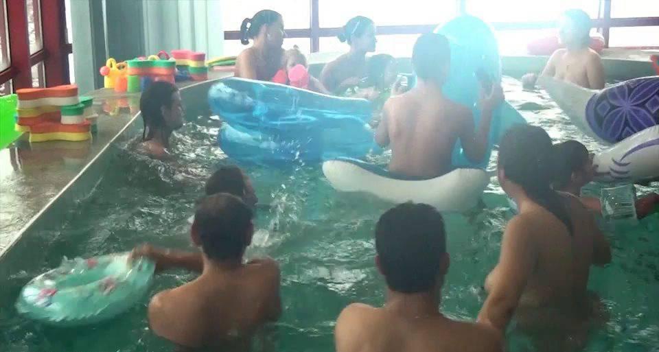 Nudist Videos Indoor Swim Exercise - 2