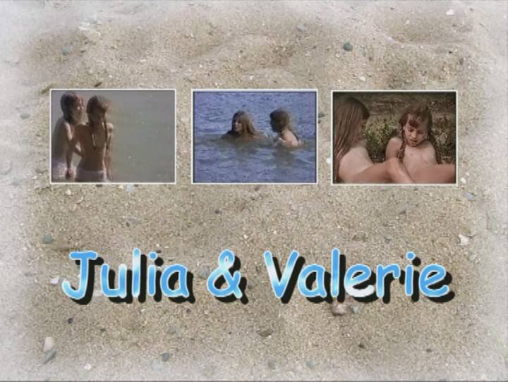 Nudist Movies Julia and Valerie - Poster