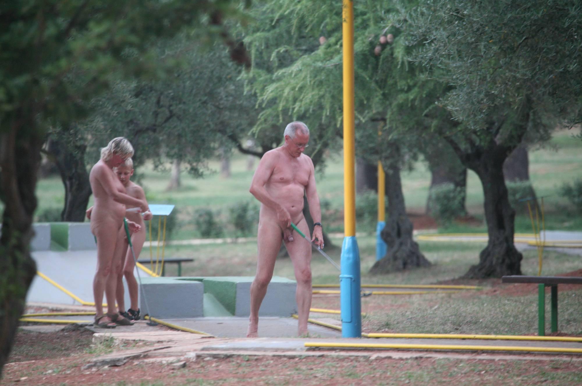 Nudist Photos Mini-Golf Nude Participants - 2