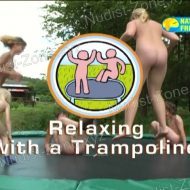 Relaxing with a Trampoline