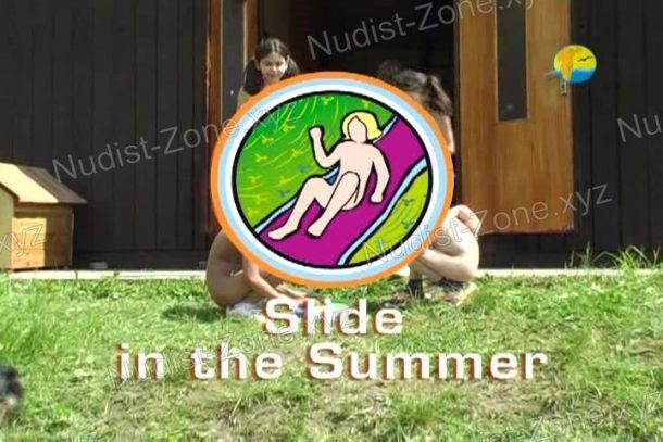 Shot of Slide in the Summer