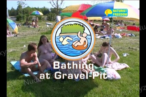 Shot Bathing at Gravel-Pit