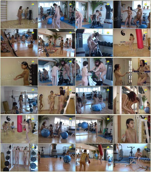 Fitness Girls - frames 1