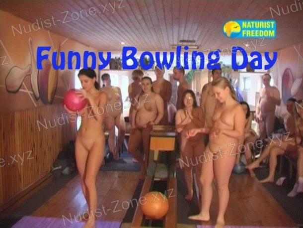 Funny Bowling Day frame