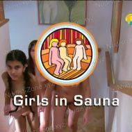 Girls in Sauna