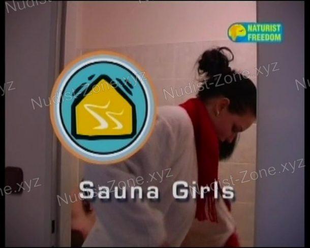 Sauna Girls - cover