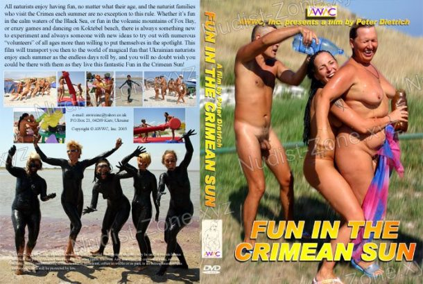 Frame of Fun In The Crimean Sun