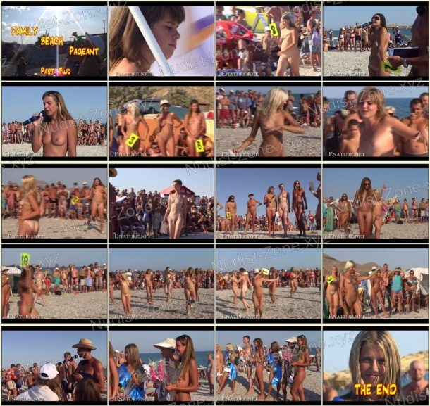 Shots of Family Beach Pageant Part Two 1