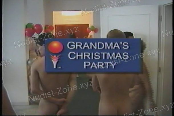 Video still of Grandma's Christmas Party