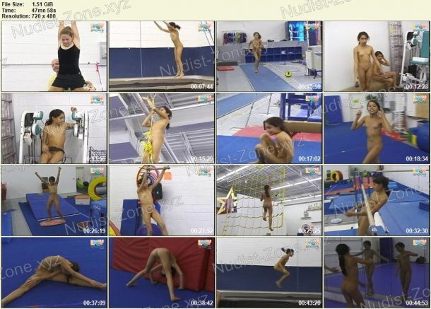 Kasey and October Nude Gymnasts [LollySports.com] - snapshots 1
