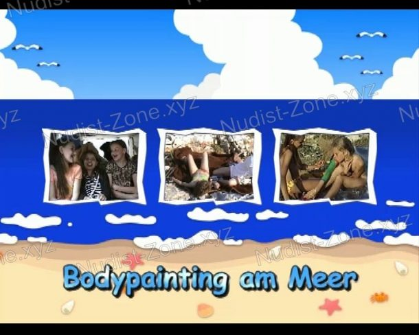 Bodypainting am Meer - frame