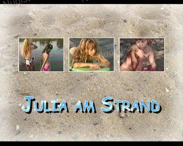Shot Julia am Strand