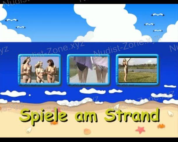 Spiele am Strand - shot