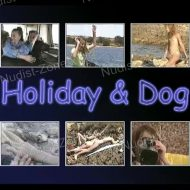 Holiday and Dog
