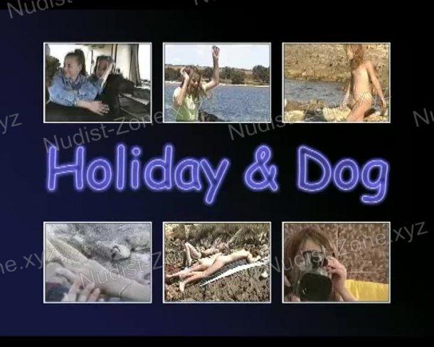 Holiday and Dog snapshot