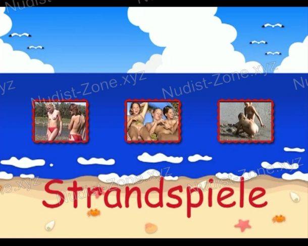 Strandspiele - frame