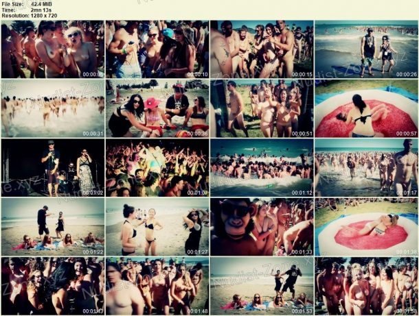 Film stills of Skinny Dip - Guinness World Record 2013 HD 1