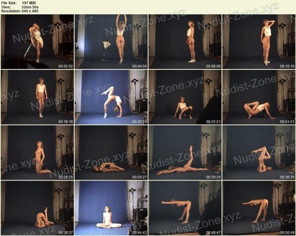 Screenshot of Naked Gymnast - Margo 05.03.2010