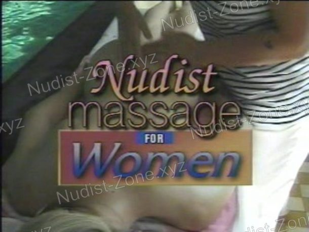 Nudist Massage for Women video still