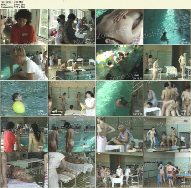Frames of Nudist Massage for Women 1