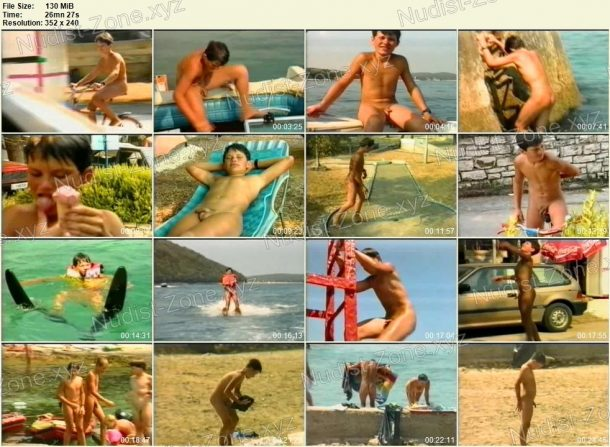 Frame of On The Land and In The Water - Nudist Boys Video