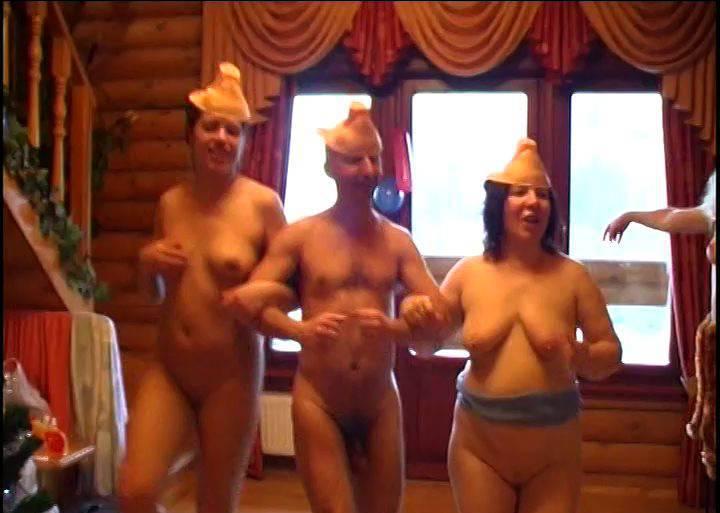 RussianBare Videos Naked in a Winter Wonderland - 2