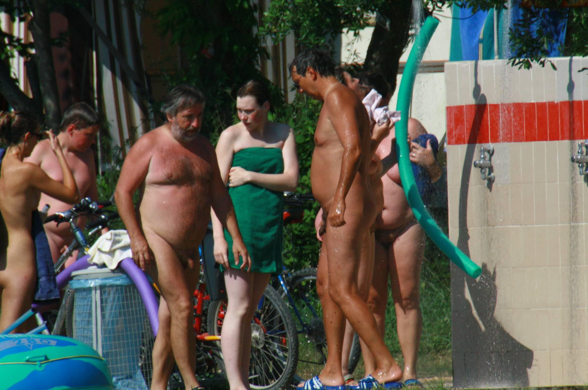 Naturist Outdoor Showers - 2